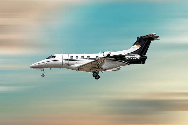 Wall Art - Mixed Media - Phenom 300 Arrow by Smart Aviation