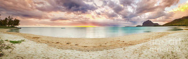 Wall Art - Photograph - Sandy Tropical Beach. Panorama. by MotHaiBaPhoto Prints