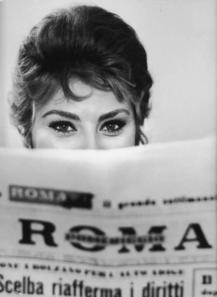 Photograph - Sophia Loren by Alfred Eisenstaedt