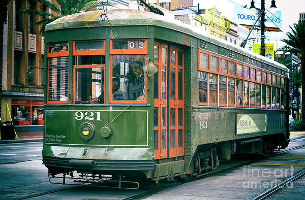 Photograph - 921 Saint Charles Streetcar New Orleans by John Rizzuto