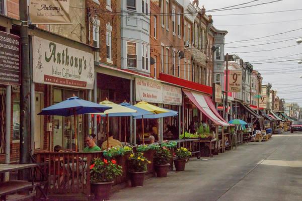 Wall Art - Photograph - 9th Street Italian Maket In South Philadelphia by Bill Cannon