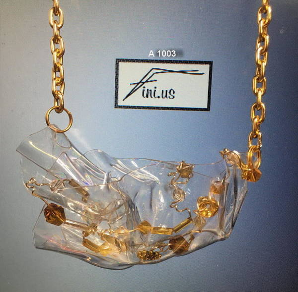 Jewelry - A 1003 Sculptured Pendant  by Mary Russell