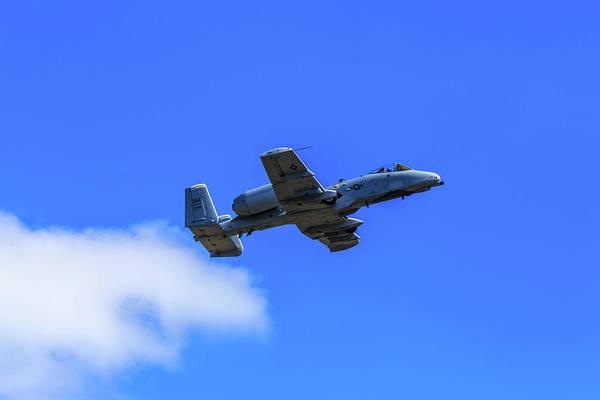 Photograph - A-10c Thunderbolt II In Flight by Doug Camara