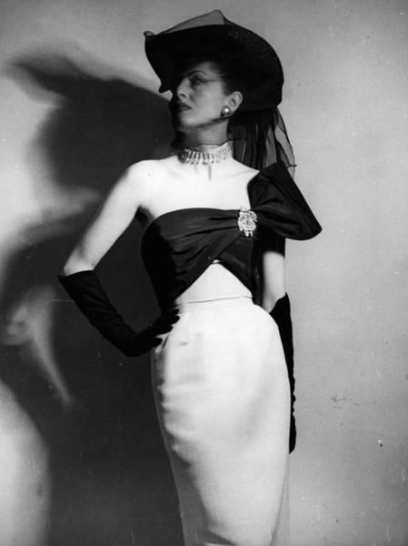 Evening Wear Photograph - A 1951 Dress by Bill Brandt