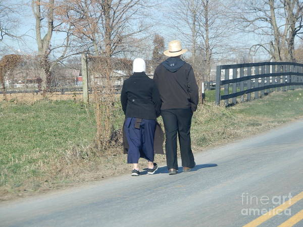 Photograph - A Beautiful Day For A Walk by Christine Clark