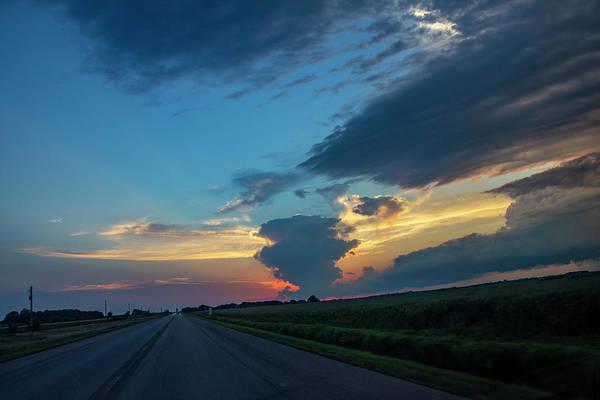 Photograph - A Beautiful Nebraska Thunderset 002 by NebraskaSC