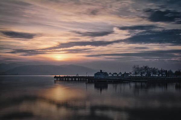 Photograph - A Beautiful Sunset by Suleyman Derekoy