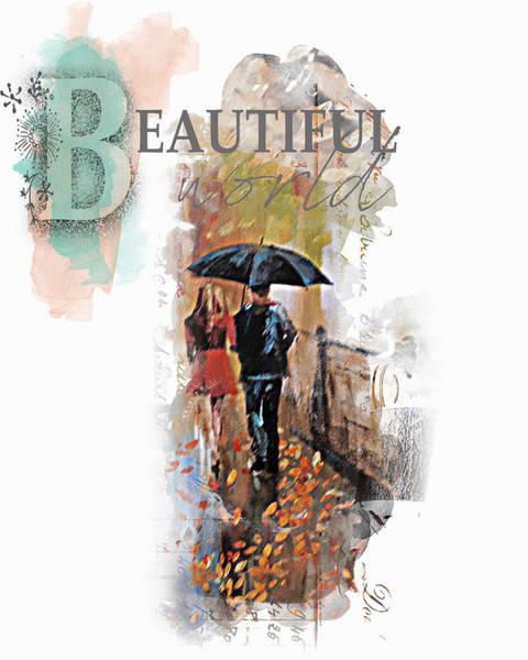 Purple Rain Digital Art - A Beautiful World Part2 by Tim Palmer