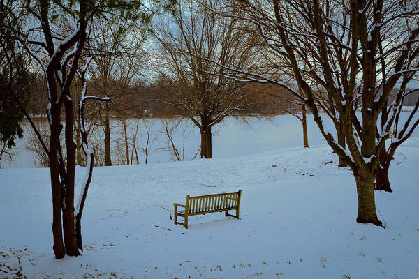 Wall Art - Photograph - A Bench With A View by Denise Harty