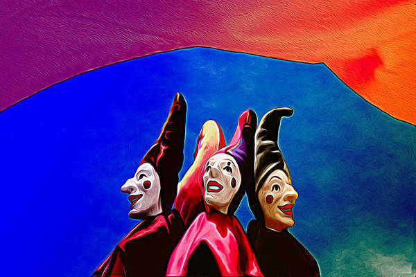 Photograph - A Bevy Of Jesters by Paul Wear