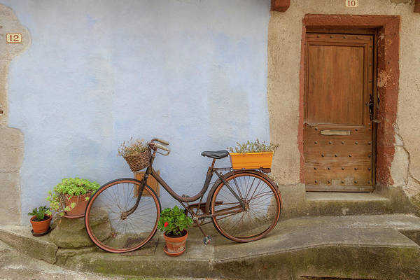 Wall Art - Photograph - A Bicycle At Number 10 by W Chris Fooshee