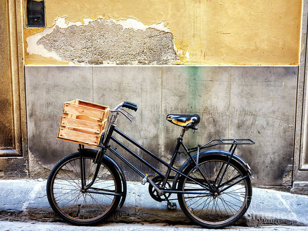 Photograph - A Bicycle In Firenze by John Rizzuto