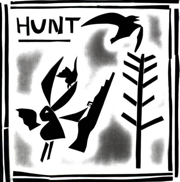 Digital Art - A Bird Hunting Birds 2 by Artist Dot