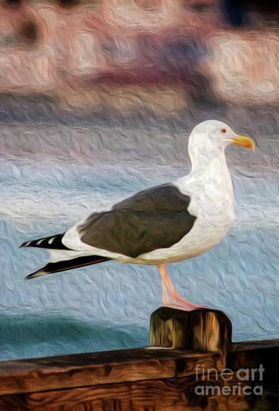 Digital Art - A Bird's Eye View by Kenneth Montgomery