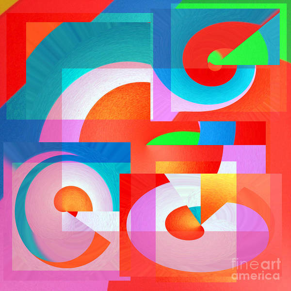 Wall Art - Digital Art - A Bit Square  by Merice Ewart