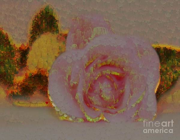 Painting - A Blonde Rose by Catherine Lott