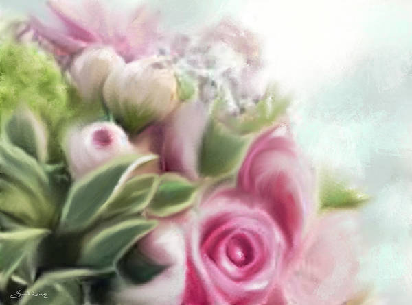 Painting - A Bouquet Of Thankfulness by Sannel Larson