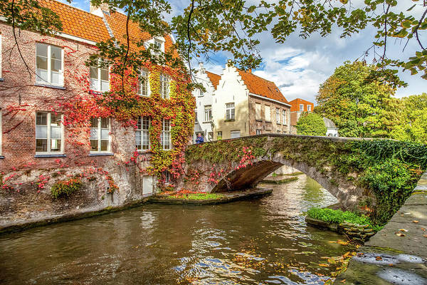 Wall Art - Photograph - A Bridge In Brugge by W Chris Fooshee