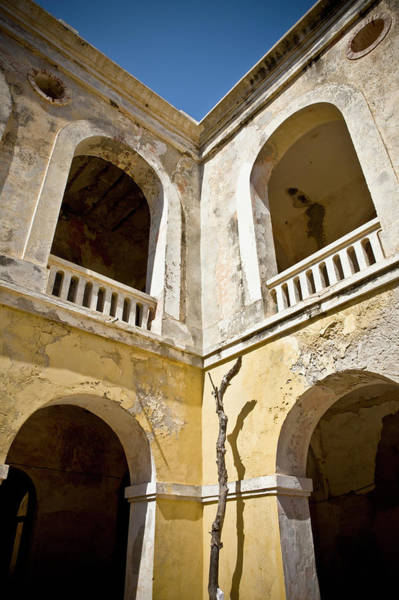 Dakar Photograph - A Building With Archways And Railings by David Duchemin / Design Pics