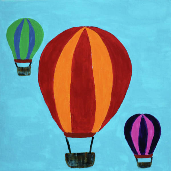 Painting - A Bunch Of Hot Air by Deborah Boyd