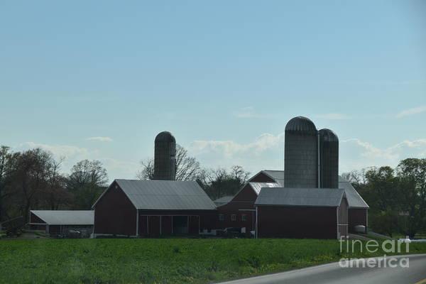 Photograph - A Calm April Day On The Farm by Christine Clark