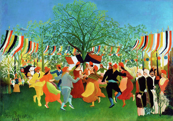 Wall Art - Painting - A Centennial Of Independence - Digital Remastered Edition by Henri Rousseau