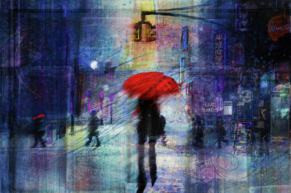 Wall Art - Digital Art - A Christmas In The City by Tim Palmer