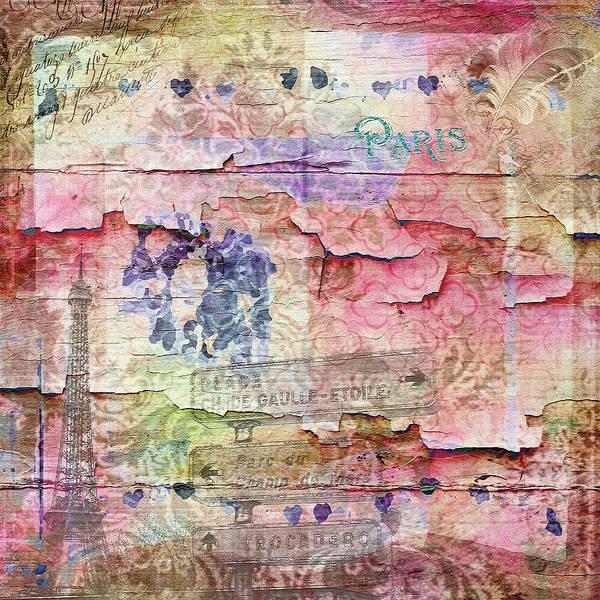 Wall Art - Mixed Media - A City Besieged by Paula Ayers