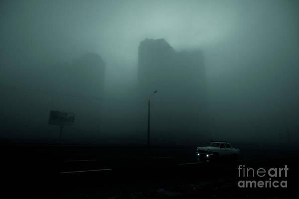 Wall Art - Photograph - A City Shrouded In Fog by Stas Muhin