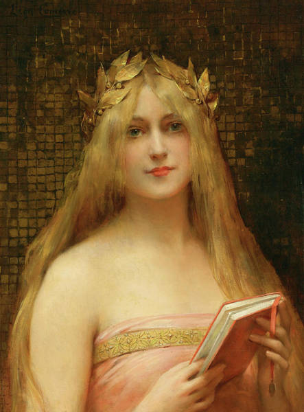 Wall Art - Painting - A Classical Beauty by Leon Comerre