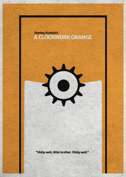 Wall Art - Digital Art - A Clockwork Orange by Inspirowl Design