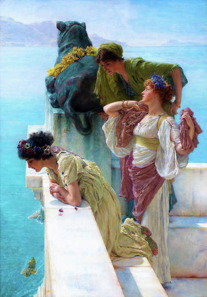 Wall Art - Painting - A Coign Of Vantage - Digital Remastered Edition by Lawrence Alma-Tadema