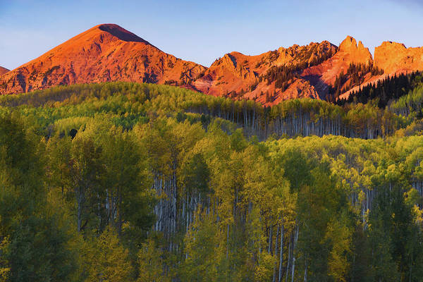 Photograph - A Colorado Glow by John De Bord