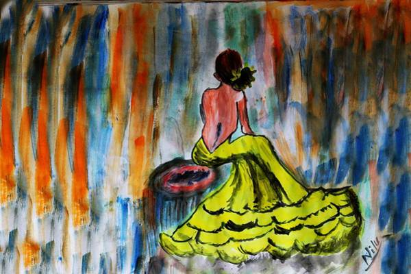 Wall Art - Painting - A Colorful Wait by Nick Photography