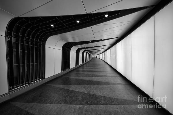 Wall Art - Photograph - A Cool Underground Path Of Kings Cross by Roland Shainidze