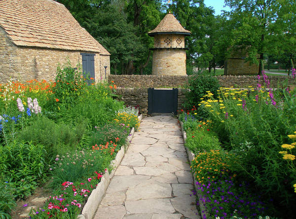 Photograph - A Cotswold Garden by Rein Nomm