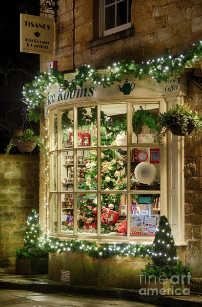 Photograph - A Cotswold Xmas by Tim Gainey