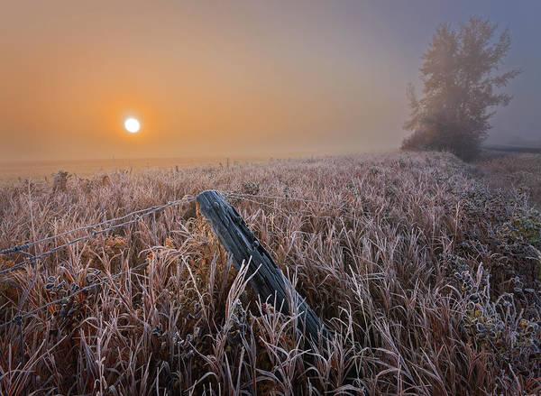 Photograph - A Crisp October Morning by Dan Jurak