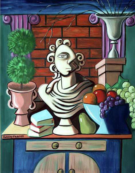 Painting - A Cubist Still Life by Anthony Falbo