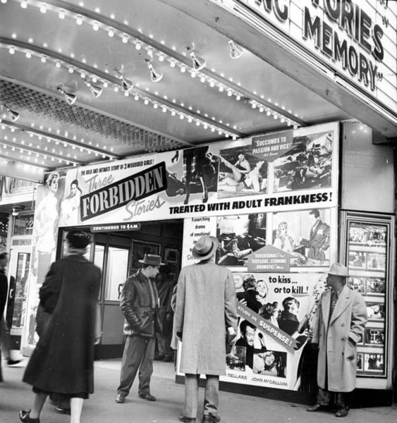 Customer Photograph - A Customer Hooked , Man Stops To Gawk by New York Daily News Archive