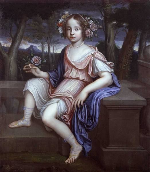 Wall Art - Painting - A Daughter Of Friedrich Heinrich Of Brunswick-luneburg-calenberg by Celestial Images