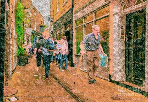 A Day At The Shops Art Print