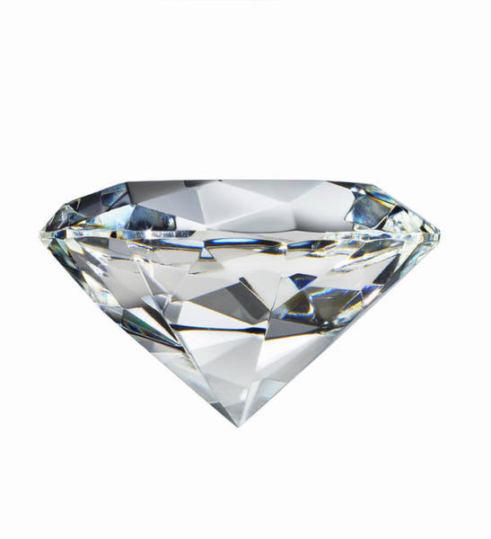 Wealth Photograph - A Diamond by Ryan Mcvay