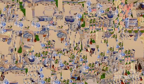 Wall Art - Digital Art - A Digital Cartoon by Nancy Kane Chapman