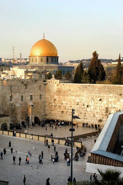 Pilgrimage Wall Art - Photograph - A Distant Shot Of A Morning In Jerusalem by Stevenallan