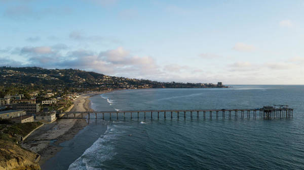 Scripps Pier Photograph - A Distant View by Brian Lorenzo Balisi