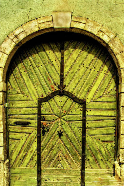 Photograph - A Door In Budapest by Kay Brewer