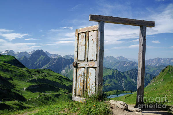 Wall Art - Photograph - A Door On A Mountain by Dominic Walter