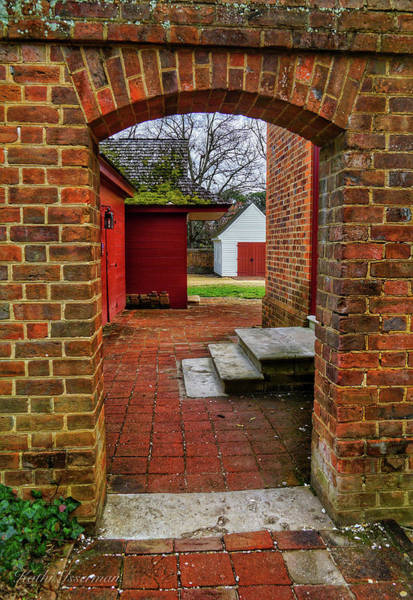 Red Wall Art - Photograph - A Door Through Time by Kathi Isserman
