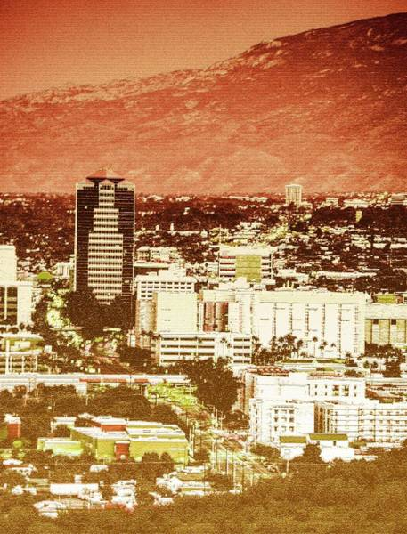 Photograph - A Downtown Tucson Rendering by Chance Kafka